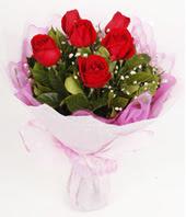 9 adet kaliteli görsel kirmizi gül  Erzincan hediye sevgilime hediye çiçek