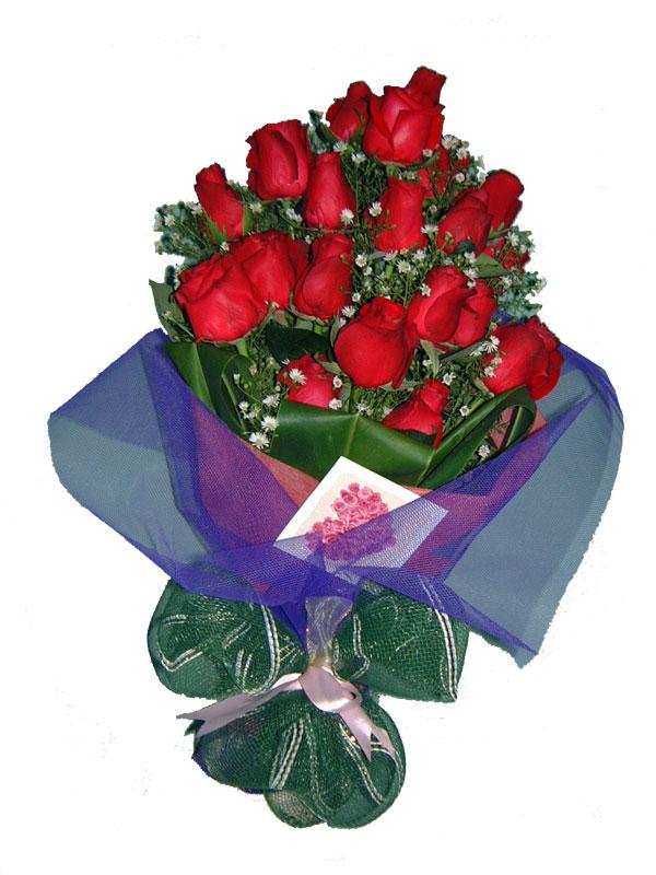 12 adet kirmizi gül buketi  Erzincan çiçek gönderme