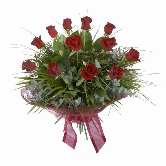 Etkileyici buket 11 adet kirmizi gül buketi  Erzincan çiçek yolla , çiçek gönder , çiçekçi