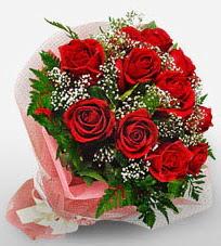 12 adet kırmızı güllerden kaliteli gül  Erzincan çiçek yolla