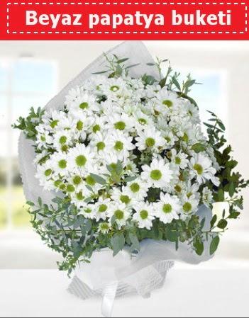 Beyaz Papatya Buketi  Erzincan ucuz çiçek gönder