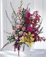 Erzincan uluslararası çiçek gönderme  orkide sebboy gülden aranjman