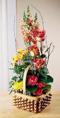 Erzincan çiçek mağazası , çiçekçi adresleri  aslan agzi gül ve patlardan tanzim