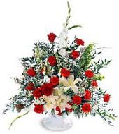 Erzincan İnternetten çiçek siparişi  ucuz görsel çiçek karanfillerden özel aranjman