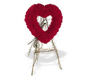 Erzincan çiçek yolla , çiçek gönder , çiçekçi   karanfillerden kalp pano