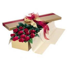 Erzincan çiçek satışı  10 adet kutu özel kutu