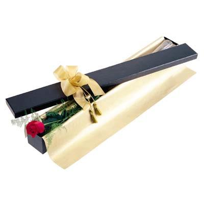 Erzincan çiçek , çiçekçi , çiçekçilik  tek kutu gül özel kutu