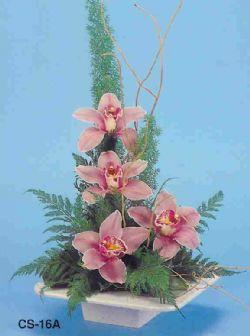 Erzincan çiçek online çiçek siparişi  vazoda 4 adet orkide