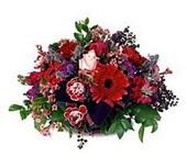 Erzincan çiçek yolla , çiçek gönder , çiçekçi   sepette mevsim çiçekleri