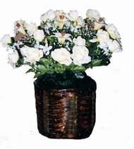 yapay karisik çiçek sepeti   Erzincan çiçekçi telefonları