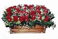 yapay gül çiçek sepeti   Erzincan çiçek yolla