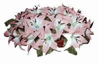 yapay karisik çiçek sepeti   Erzincan yurtiçi ve yurtdışı çiçek siparişi