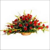 Erzincan yurtiçi ve yurtdışı çiçek siparişi  sepette 51 kirmizi gül