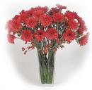 vazoda gerberalar  tanzimi   Erzincan 14 şubat sevgililer günü çiçek