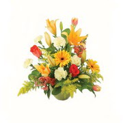 karisik renkli çiçekler tanzim   Erzincan 14 şubat sevgililer günü çiçek