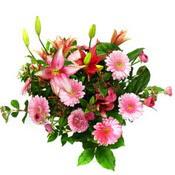 lilyum ve gerbera çiçekleri - çiçek seçimi -  Erzincan hediye sevgilime hediye çiçek
