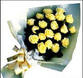 sari güllerden sade buket  Erzincan çiçek mağazası , çiçekçi adresleri