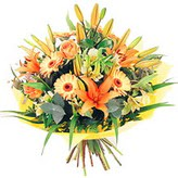 karisik  mevsimsel  buket   Erzincan anneler günü çiçek yolla