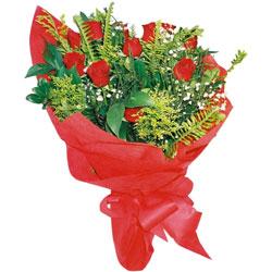 11 adet gül buketi sade ve görsel  Erzincan çiçek satışı