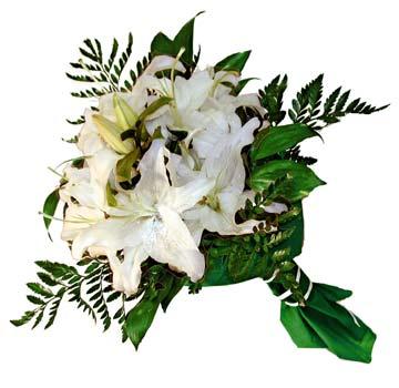 3 adet kazablanka demeti buketi  Erzincan yurtiçi ve yurtdışı çiçek siparişi