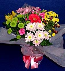 Erzincan güvenli kaliteli hızlı çiçek  küçük karisik mevsim demeti