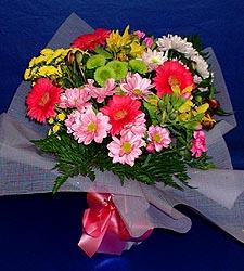 karisik sade mevsim demetligi   Erzincan ucuz çiçek gönder
