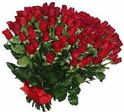 51 adet kirmizi gül buketi  Erzincan İnternetten çiçek siparişi