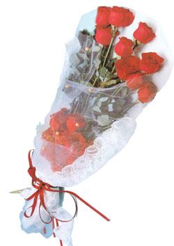 11 adet kirmizi güller buket tanzimi   Erzincan online çiçekçi , çiçek siparişi