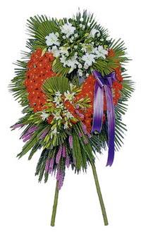 Erzincan çiçekçi telefonları  cenaze çelengi