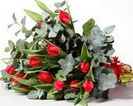 Erzincan çiçek servisi , çiçekçi adresleri  11 adet kirmizi gül buketi özel günler için