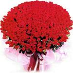 Erzincan cicek , cicekci  1001 adet kirmizi gülden çiçek tanzimi