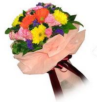 Erzincan yurtiçi ve yurtdışı çiçek siparişi  Karisik mevsim çiçeklerinden demet
