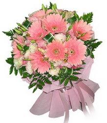 Erzincan çiçek satışı  Karisik mevsim çiçeklerinden demet