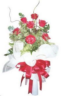 Erzincan online çiçekçi , çiçek siparişi  7 adet kirmizi gül buketi