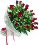 Erzincan çiçek yolla , çiçek gönder , çiçekçi   11 adet kirmizi gül buketi sade ve hos sevenler