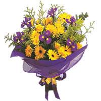 Erzincan 14 şubat sevgililer günü çiçek  Karisik mevsim demeti karisik çiçekler
