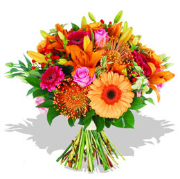 Erzincan çiçek online çiçek siparişi  Karisik kir çiçeklerinden görsel demet