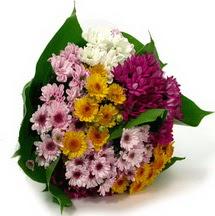 Erzincan çiçek online çiçek siparişi  Karisik kir çiçekleri demeti herkeze