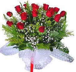 Erzincan çiçek servisi , çiçekçi adresleri  12 adet kirmizi gül buketi esssiz görsellik