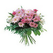 karisik kir çiçek demeti  Erzincan çiçek servisi , çiçekçi adresleri