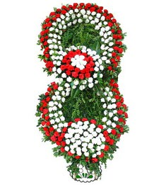Görsel Cenaze çiçek , cenaze çiçek , çelengi  Erzincan çiçek , çiçekçi , çiçekçilik