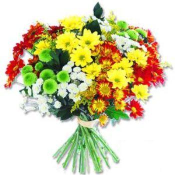 Kir çiçeklerinden buket modeli  Erzincan çiçek gönderme