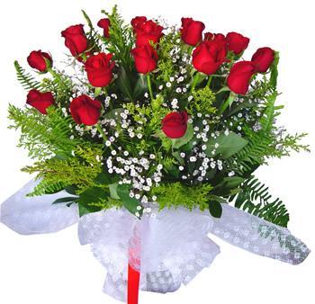 11 adet gösterisli kirmizi gül buketi  Erzincan çiçek yolla , çiçek gönder , çiçekçi