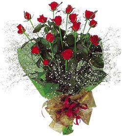11 adet kirmizi gül buketi özel hediyelik  Erzincan yurtiçi ve yurtdışı çiçek siparişi