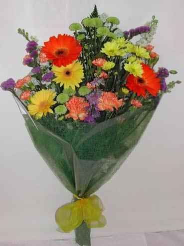 karisik kir çiçek buketi çiçek gönderimi  Erzincan çiçek satışı