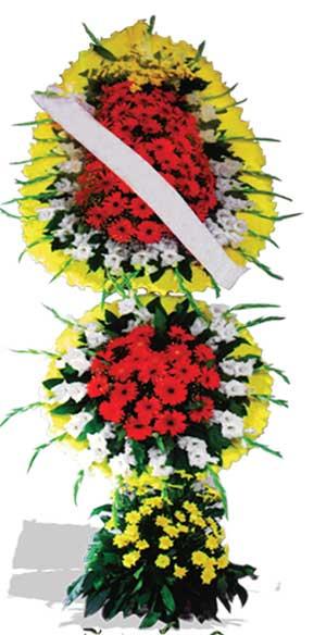 Dügün nikah açilis çiçekleri sepet modeli  Erzincan anneler günü çiçek yolla