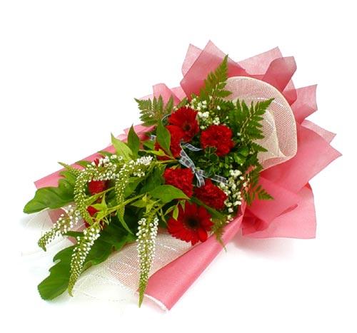 Karisik çiçek buketi mevsim buket  Erzincan online çiçekçi , çiçek siparişi