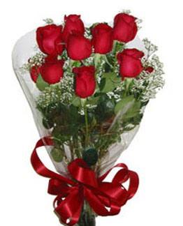 Çiçek sade gül buketi 7 güllü buket  Erzincan çiçek gönderme