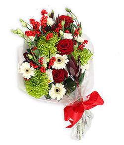 Karisik mevsim buketi çiçek tanzimi  Erzincan çiçek gönderme sitemiz güvenlidir