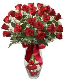 17 adet essiz kalitede kirmizi gül  Erzincan çiçekçiler